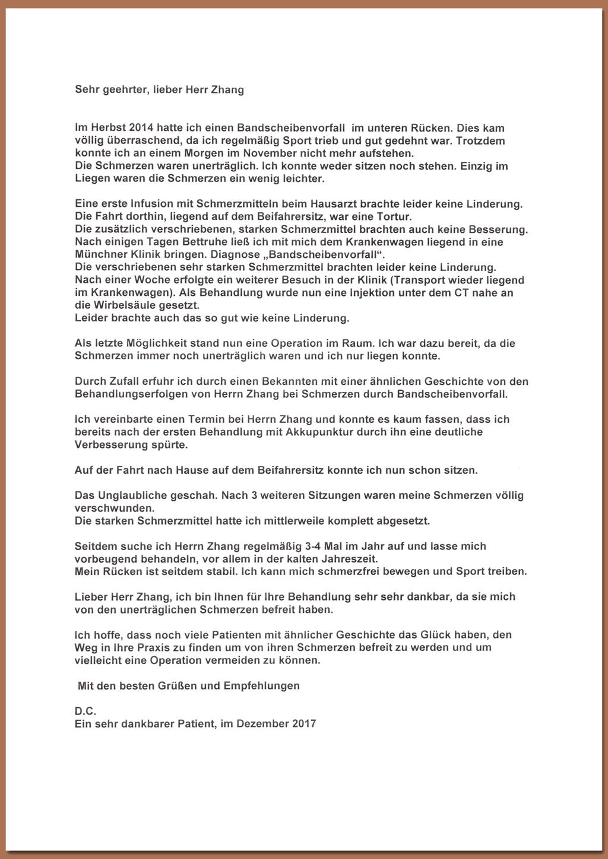 Dankesbriefe - Akupunktur TCM Praxis Liang Zhang seit 1994 in ...